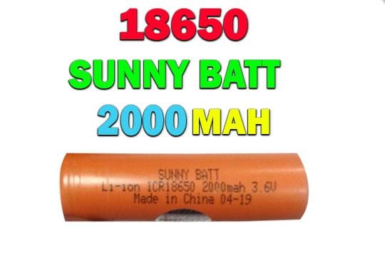 خرید باتری لیتوم یونی 2000 میلی آمپری سانی بات