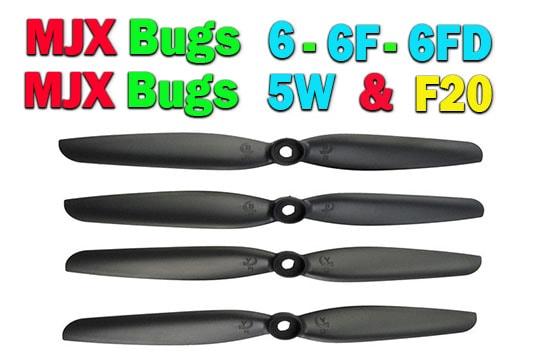خرید چهار عدد پره کوادکوپتر mjx bugs 5w-6