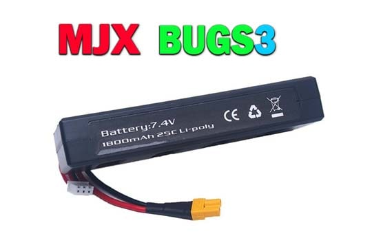 باتری کوادکوپتر mjx bugs 3