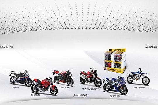 ماکت موتور سیکلت سایز بزرگ