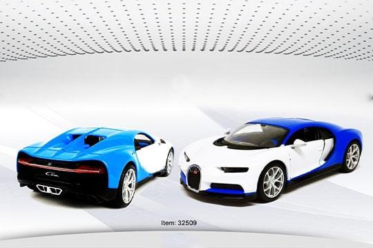 ماکت ماشین bugatti chiron