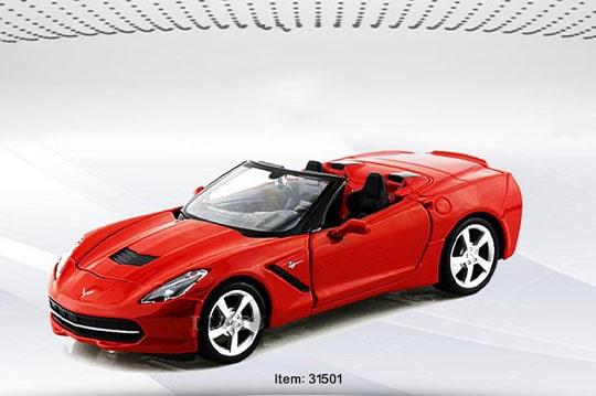 ماکت ماشینchevrolet corvette