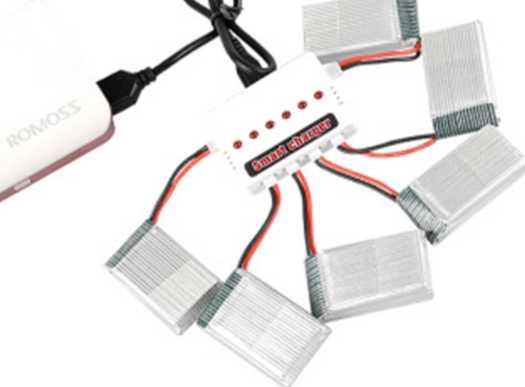 شارژر همزمان 6 باتری کوادکوپتر SYMA X5C