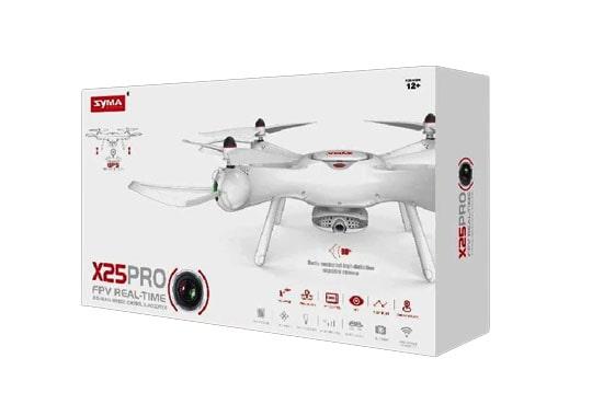 خرید کواکوپتر syma x25 pro با دوربین متحرک و ارسال تصویر و بازگشت به خانه دقیق با gps