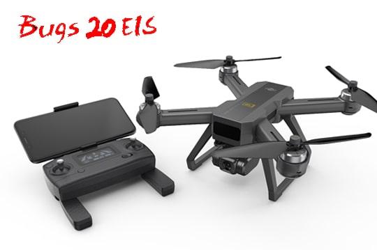 کوادکوپتر باگز 20 ای آی اس با دوربین حرفه ای و قابلیتهای بالا مناسب برای فیلمبرداری هوایی
