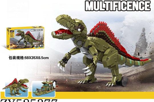 دایناسور لگویی 1064 تیکه آیتم  decool 31027  با قابلیت ساخت دو مدل
