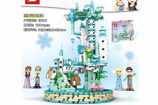 برج لگویی بزرگ دخترانه 784 تیکه آیتم 5400