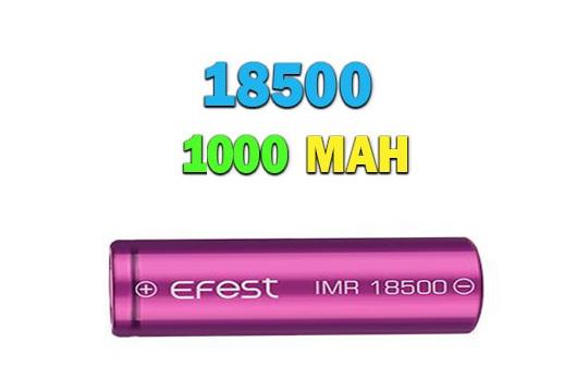 باتری لیتیوم یونی های پاور 1000 میلی آمپر 18500