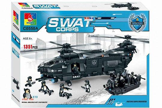 هلیکوپتر بزرگ لگویی 1351 تیکه آیتم  c0550a