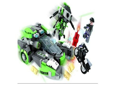 ماشین و روبات لگویی 516 تیکه آیتم 22809