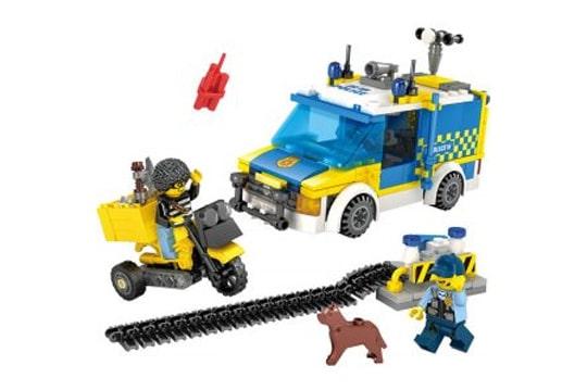 ماشین لگویی پلیس 246 تیکه آیتم 67271