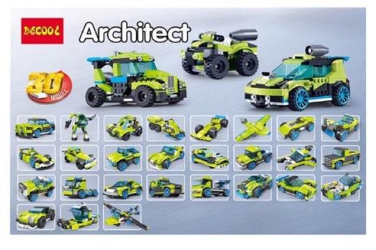 خرید لگوی decool 3128   با قابلیت ساخت بیش از 25 مدل