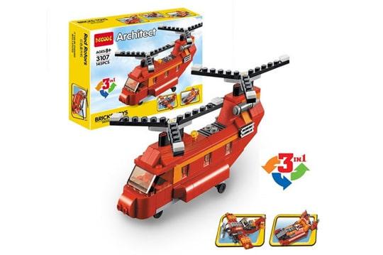 هلیکوپتر لگویی 119 تیکه آیتم decool 3107