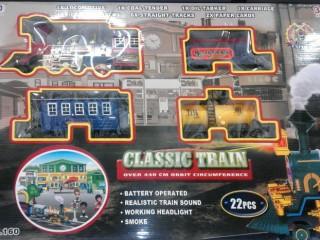 قطار دودی مدل 160 ( باتری خور)