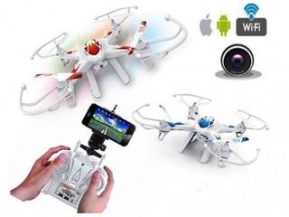 کوادکوپتر  4 کاناله LH-X8 دوربین دار مجهز به  wi-fi