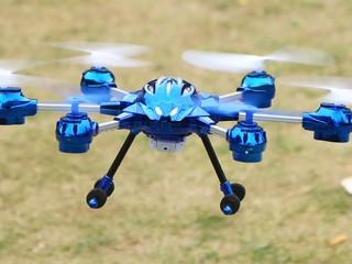 هگزا کوپتر بدون دوربین مدل w609-10