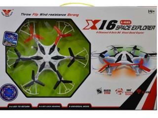 هگزاکوپتر  X16 SPACE EXPLORER ( بدون دوربین)
