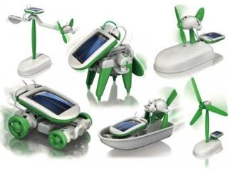 لگوی خورشیدی سولار با قابلیت ساختن 6 مدل خورشیدی