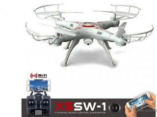 کوادکوپتر X5SW-1 با دوربین ارسال تصویر و هدست واقعیت مجازی (VR)