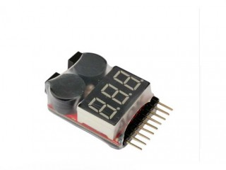 تستر باتری کوادکوپتر لیتیوم پلیمری- لیتیوم یونی تا 8 سل
