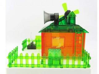 خانه خورشیدی سولار (  کار با انرژی خورشیدی و باتری )