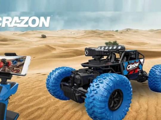 CRAZON-171803B ماشین دوربین وای فای سرعتی قدرتی کرازون
