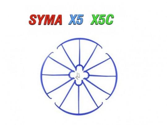 4 عدد محافظ پره کواد کوپتر مدل syma-x5-x5c-x5sw-x5sc-x5hc-x5hw