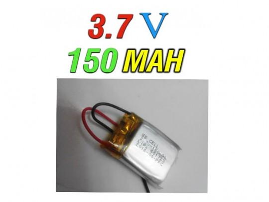 باطری لیتیوم پلیمر اورجینال 150میلی آمپر (150MAH)