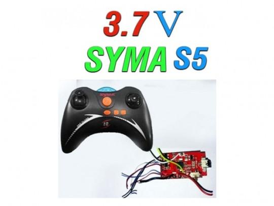 دسته کنترل و مدار هلیکوپتر 3.5 کاناله syma s5