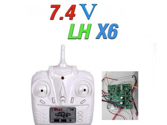 دسته کنترل و مدار کواد کوپتر مدل LH-X6