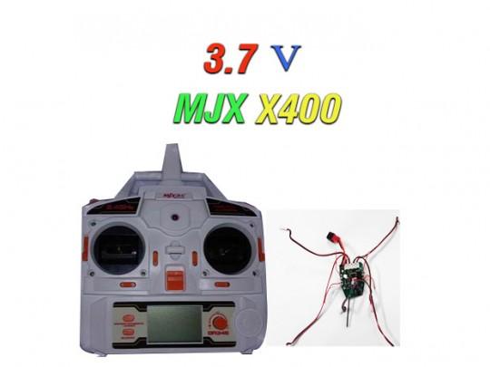 دسته کنترل و مدار کواد کوپتر مدل mjx x400v