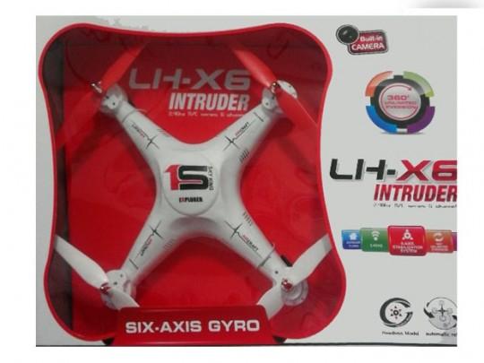 کوادکوپتر  بزرگ دوربین دار LH-X6C با ابعاد نیم متر