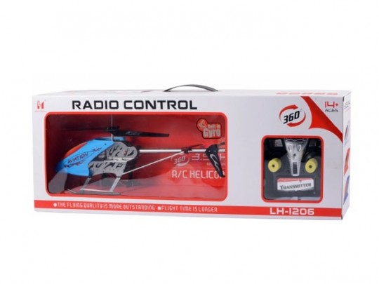 هلیکوپتر کنترلی 1206 با طول نیم متر و کنترل رادیویی