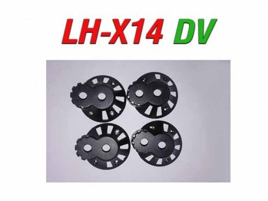 4 عدد کاور موتور کوادکوپتر LH-X14 DV