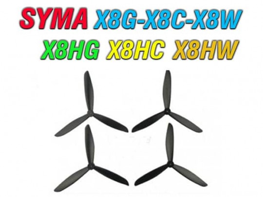 4 عدد پره کوادکوپتر سیما  x8g-x8c-x8w-x8hg-x8hc-x8hc