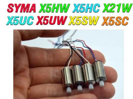 پک 4 عددی موتور کرولس کواد کوپتر مدل -SYMA X21-X5HW-X5HC-X5UC-X5UW-X5SW-X5SC