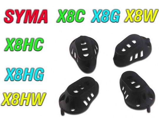 4 عدد کاور موتور کوادهای syma x8w-x8g-x8c-x8hg-x8hc-x8hw
