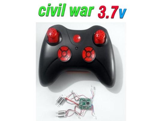دسته کنترل و مدار کوادکوپتر طرح CIVIL WAR
