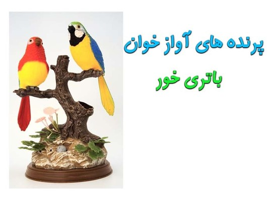 جامدادی رومیزی طرح پرنده های آواز خوان