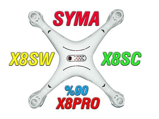 فریم کوادکوپتر سایما syma x8sw-x8sc  ( استوک در حد نو)