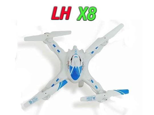 فریم کوادکوپتر LH-X8 با پره و چرخ دنده