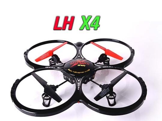 فریم کوادکوپتر lh-x4 با پره و چرخ دنده