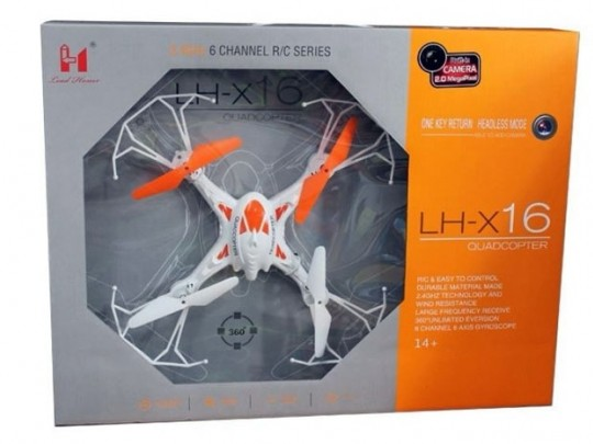 کوادکوپتر LH-X16C با دوربین مموری خور