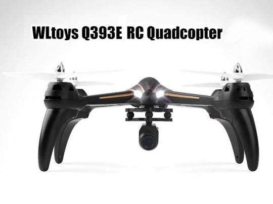 کوادکوپتر WL-Q393E با دوربین ارسال تصویر