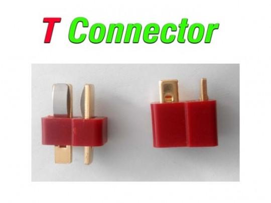 سوکت نری و مادگی T CONNECTOR
