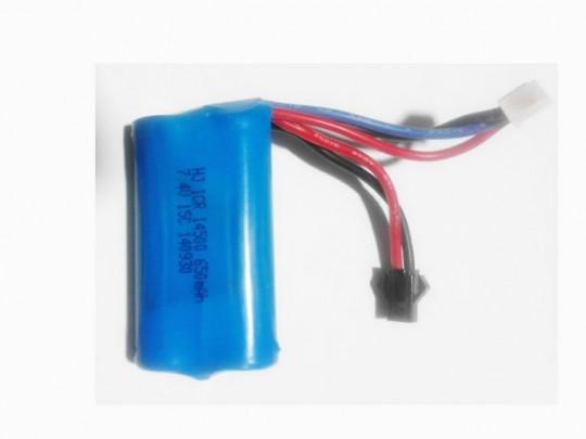 باتری استوک لیتیوم یون 7.4 ولت 650 میلی آمپرباتری استوک لیتیوم یون 7.4 ولت 650 میلی آمپر