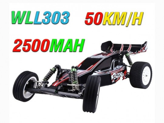 WL-L303 ماشین کنترلی با سرعت 50 کیلومتر