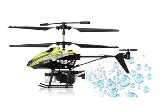 خرید هلیکوپتر کنترلی حباب ساز مدل wl-757
