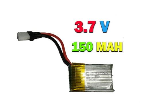 باتری لیتیوم پلیمر 150میلی آمپر (150MAH)