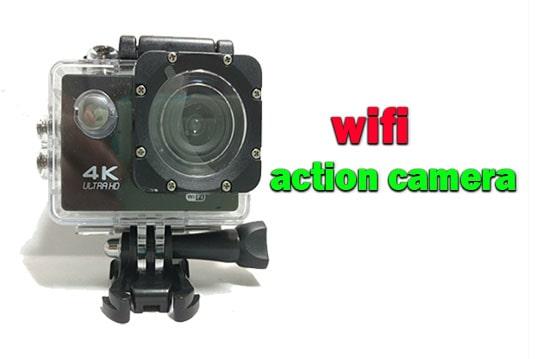 دوربین وای فای دار طرح اکشن کمرا مجهز به وای فای